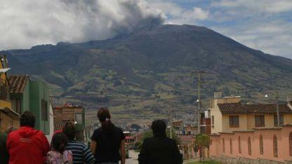 El sismo se originó en el volcán Galeras.