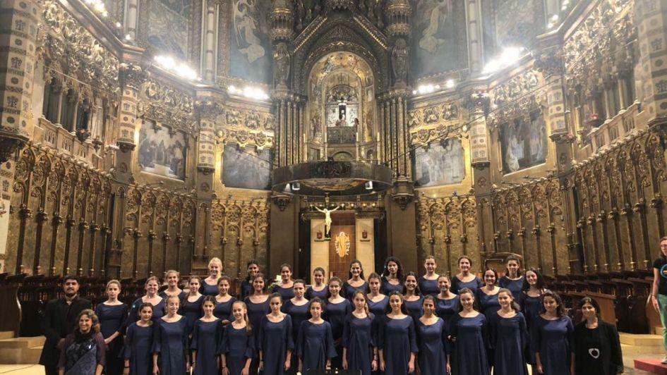 El coro del Colegio Portezuelo brilló en Europa