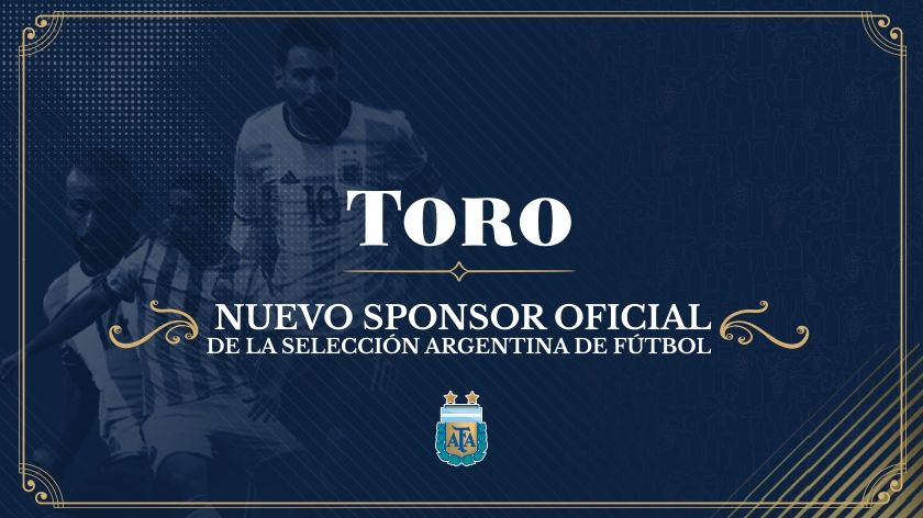 Vino Toro, nuevo sponsors de la Selección Argentina