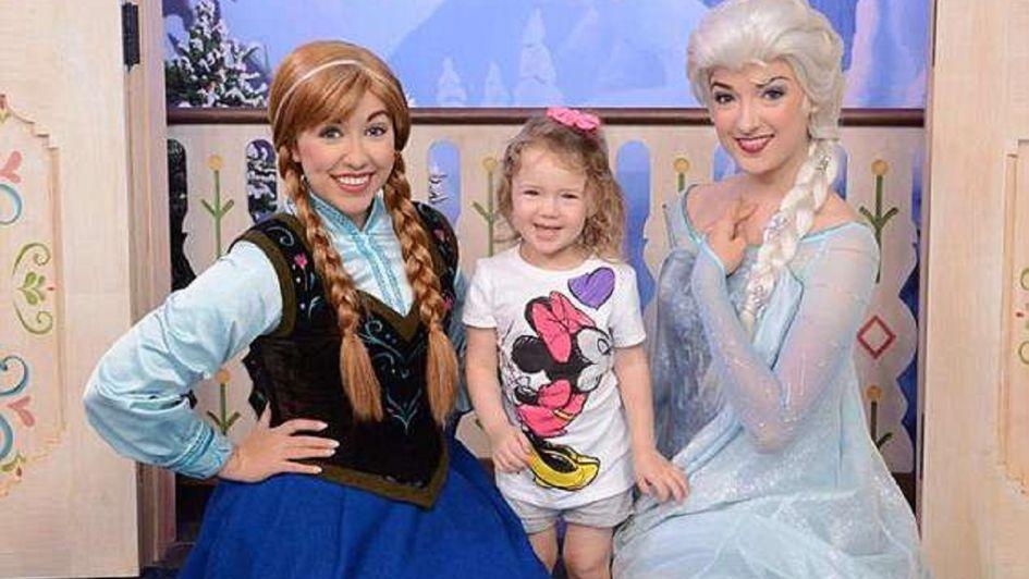 El conmovedor adiós de un nene de seis años a su hermanita con cáncer antes de morir