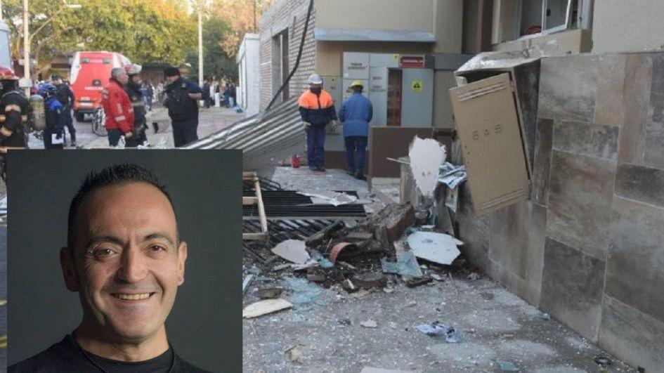 """Despertó el herido del estallido en San José: """"No pudo conmigo un camión ni la explosión"""""""
