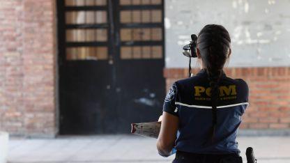 El asalto ocurrió en un comercio de la calle Cerro Trapal y Sarmiento.