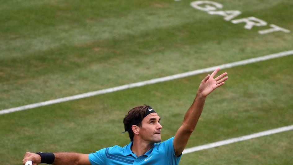Federer regresó tras dos meses al circuito con una victoria en Stuttgart