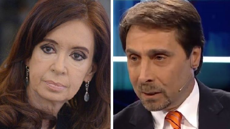 Cristina Kirchner y Eduardo Feinmann irán a juicio civil por los dichos del periodista