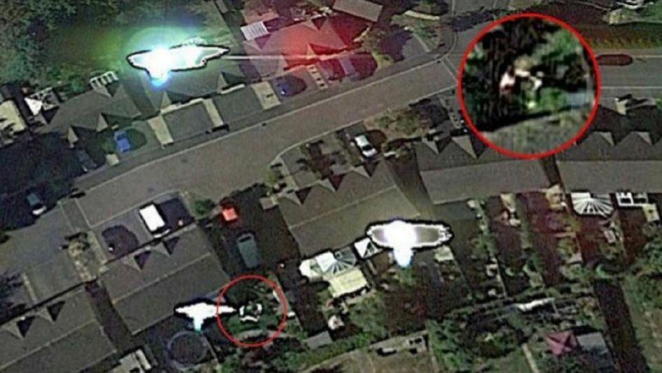 Ufólogo reveló que Google Earth captó una pelea suya con extraterrestres