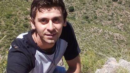 Kevin Disparti (24) falleció el pasado 31 de mayo en San Rafael.