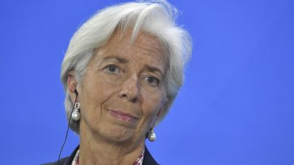 Christine Lagarde (actual titular del FMI).