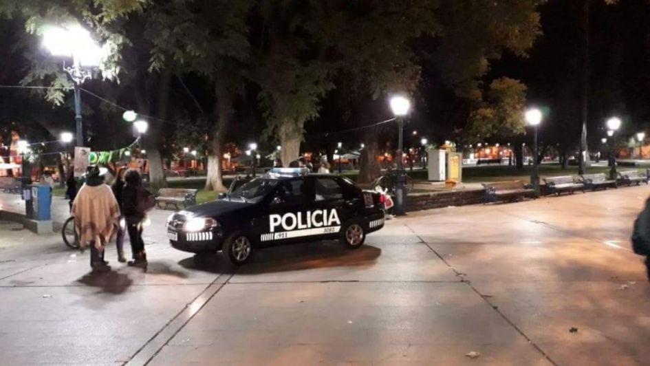 Una amenaza de bomba generó susto en la vigilia en la Plaza Independencia