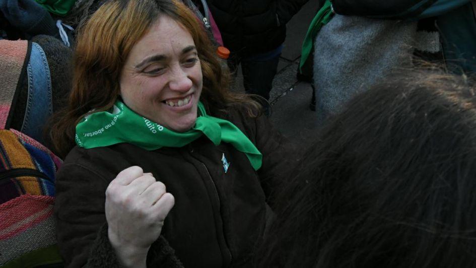 Video: así se celebró en Mendoza la media sanción del proyecto sobre el aborto
