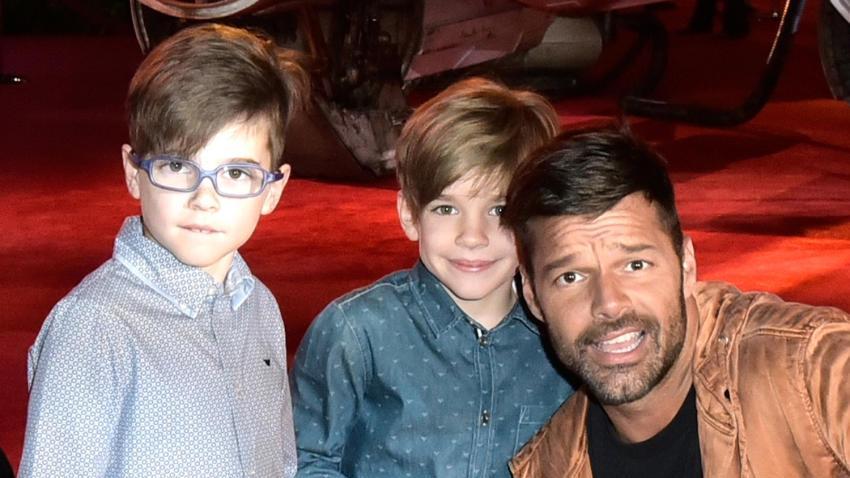 Ricky Martin expresó un deseo sobre sus hijos: