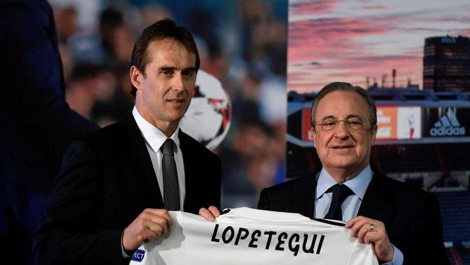 Después de la polémica, Lopetegui fue presentado como director técnico en el Real Madrid