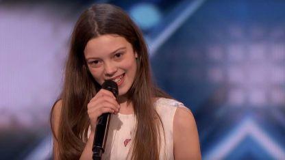 La primera impresión no es la que cuenta: tiene 13 años y deslumbró con su gran voz