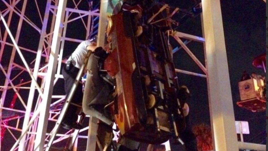 Una montaña rusa descarriló en Florida y dejó al menos seis heridos