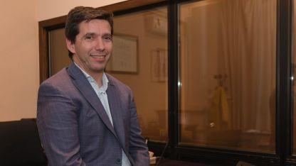 Andrés 'Peti' Lombardi militó en Franja Morada y hoy es uno de los funcionarios más cercanos al Gobernador.