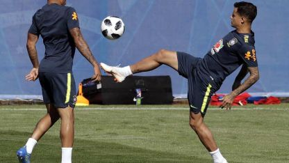 Coutinho, otra de las cartas de gol de Brasil.