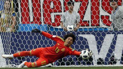 Ochoa no dejó dudas cuando se lo llamo a intervenir. Alemania no pudo con él y el resto de México.