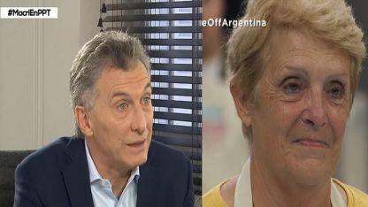 Macri y Elsa de Bake Off Argentina