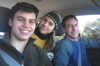 Joaquín Naidenoff (16), el joven fallecido junto a su hermana y su padre, el senador de Cambiemos.