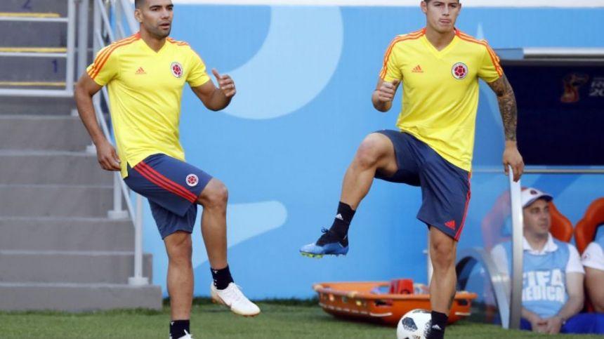 Falcao y James Rodríguez son las grandes esperanzas de los colombianos.