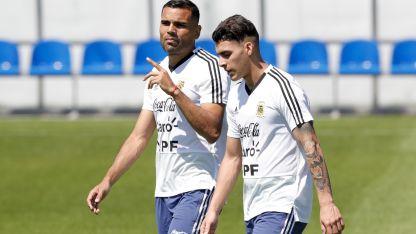 Mercado y Pavón ingresarían por Rojo y Di María, respectivamente. Argentina no puede darse el lujo de perder más puntos.