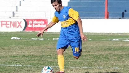 Mariano Encinas (26), jugador de Huracán San Rafael, está imputado de homicidio culposo agravado.
