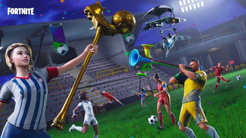 el estadio de futbol de los angeles fue el escenario para que 100 jugadores 50 streamers profesionales y 50 amateurs que eran celebridades diferentes - como conseguir plata en fortnite