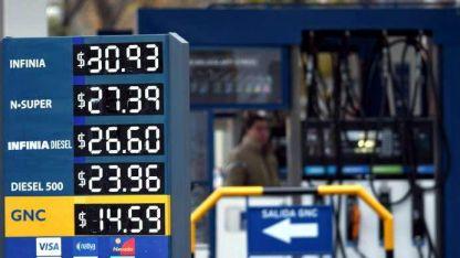 Otra suba. Las naftas no han parado de aumentar este año.