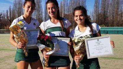 Son tres pilares de CPBM y fueron campeonas Argentinas sub 18: Milazzotto, Ramón y Vera.