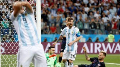Argentina fue un lamento.