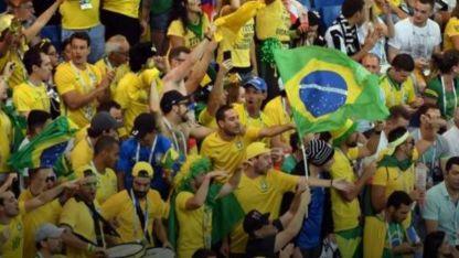 """""""Messi ciao"""", el nuevo hit de los hinchas brasileños en Rusia"""