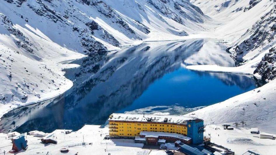 Portillo, esquíes y belleza trasandina