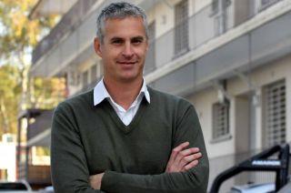 Mario Bustos Guillén, director del hospital Lagomaggiore.