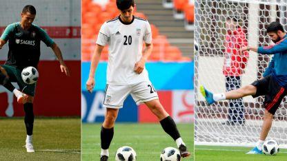 Tres para dos lugares: Portugal, Irán y España quieren llegar a Octavos.