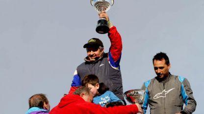 Paladini en lo más alto del podio en el Turismo Pista.