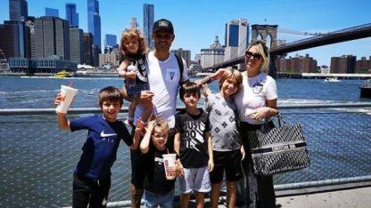 Wanda Nara y Mauro Icardi presentaron al nuevo integrante de la familia