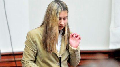Nahir Galarza, imputada por matar a su novio en Entre Ríos.