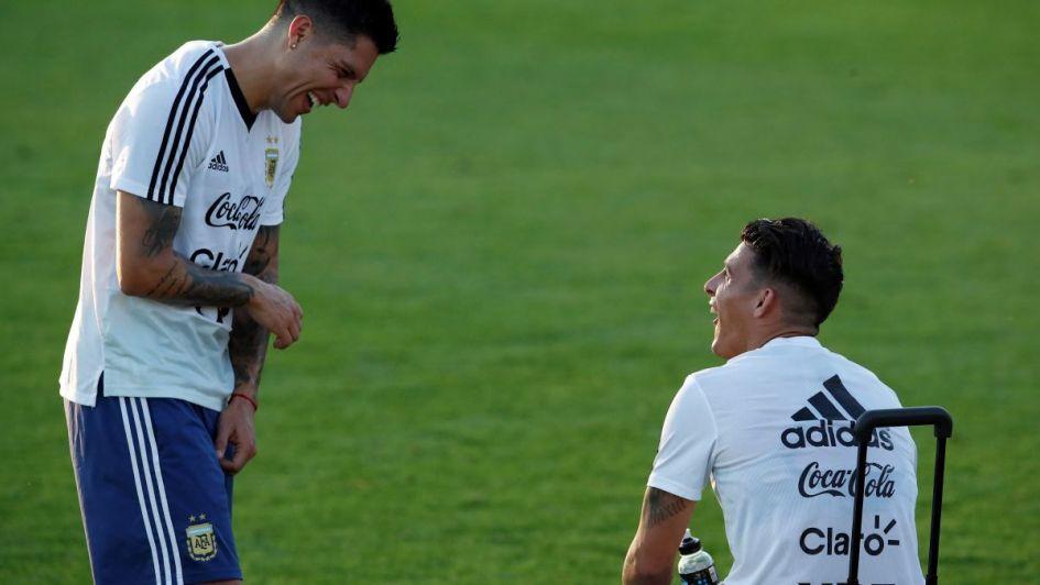 Los jugadores argentinos se sumaron al