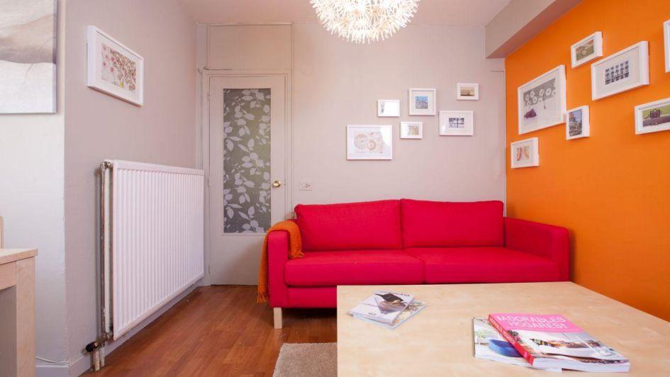 La alegría y la energía del naranja invade toda tu casa