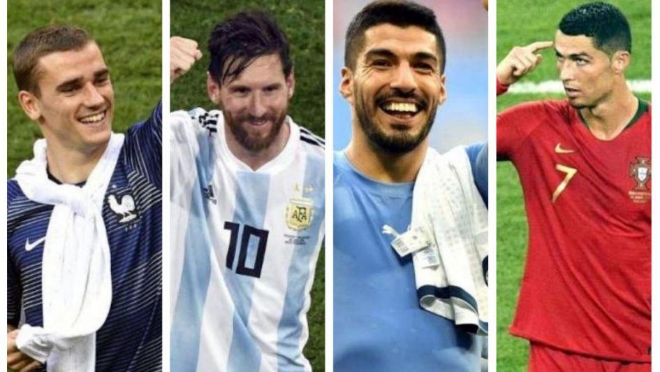 Luis Suárez y Cavani amenazan a Portugal