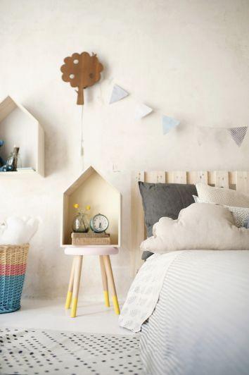 Interiorismo con estilo nórdico para niñas