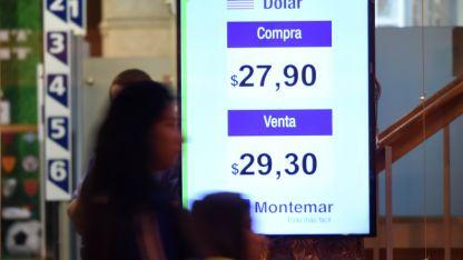 En Mendoza la moneda estadounidense cerró a 29,30 pesos.