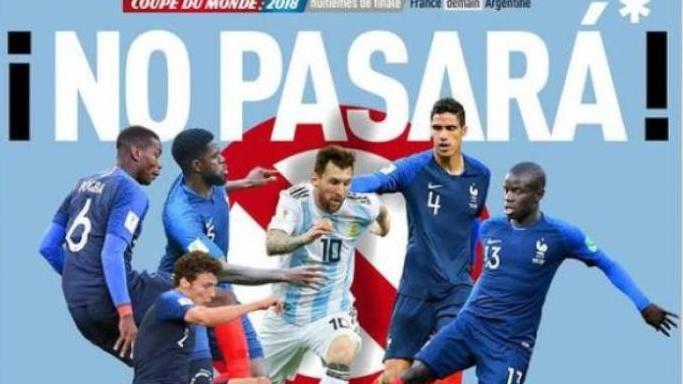 Un video muestra cómo empató Argentina 4 a 4 contra Francia — Viral