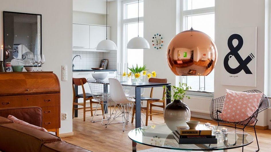Destellos y glamour: el cobre en el diseño de interiores