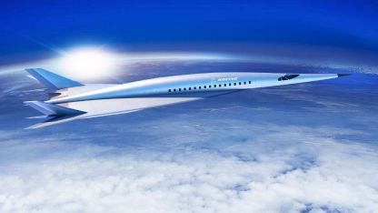 El avión proyectado por Boeing aún no tiene nombre. Podrá volar de Europa a Australia en 5 horas.