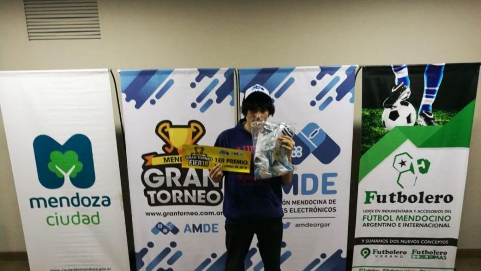 Mendoza ya tiene su primer campeón de FIFA 18