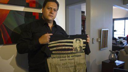 Juan SantosMarroquín (41), el hijo de Escobar Gaviria.