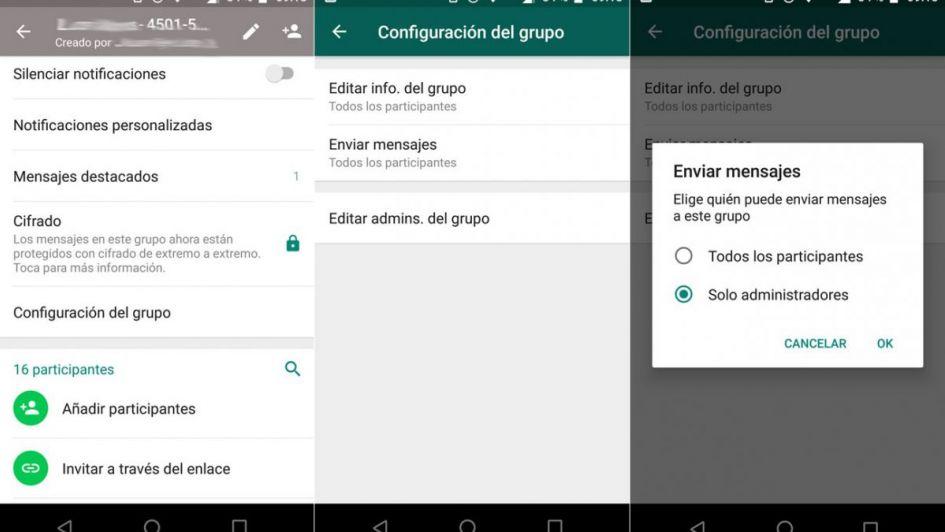 Lo pedís, lo tenés: ahora WhatsApp permite silenciar a usuarios en los grupos