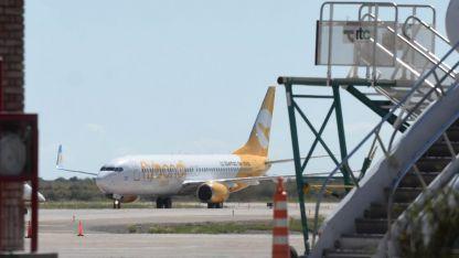 Flybondi, una de las low cost que opera en Mendoza.