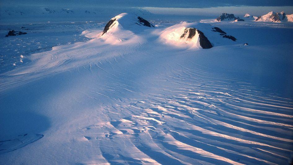 Frío polar la Antártida registró un nuevo récord de temperatura con-98,6 °C
