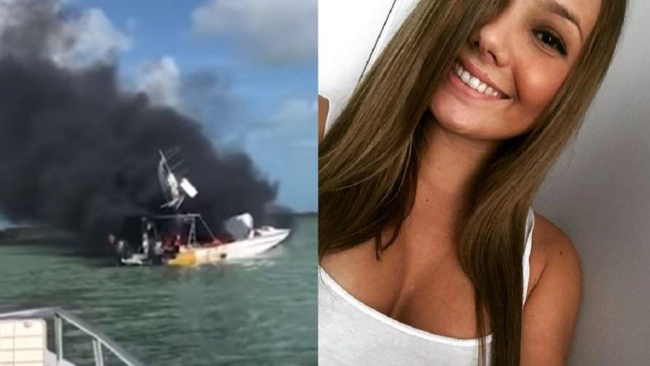 Le amputan las dos piernas a una bailarina tras explotar un barco en las Bahamas